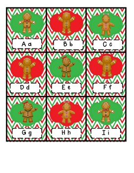 Gingerbread ABC CHOMP Game