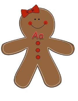 Gingerbread ABC Order!