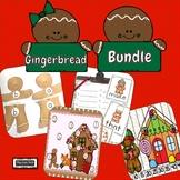 Gingerbread Activities Bundle Preschool Kindergarten