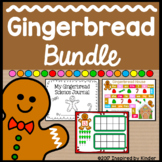 Gingerbread Activities Bundle (Science, Math, Language Arts)