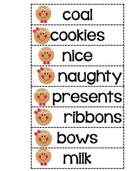 Gingerbread Activities: Reading, Writing, & Math