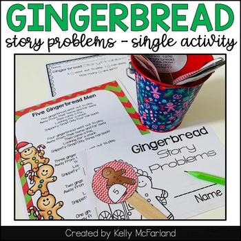 Gingerbread Activities {Story Problems}