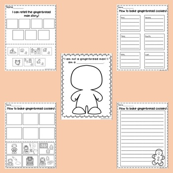 Gingerbread Activities-Themed Unit