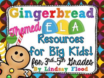 Gingerbread Activities for BIG KIDS! {3rd, 4th and 5th Grade}