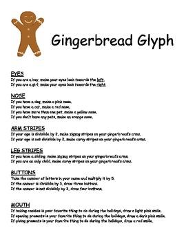 Gingerbread Activities for Intermediate Students