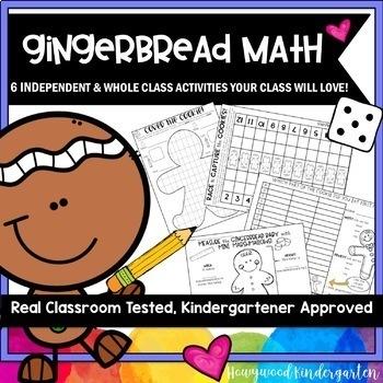 Gingerbread Man Activities for an Entire Week! Math . Literacy . Art . Journals