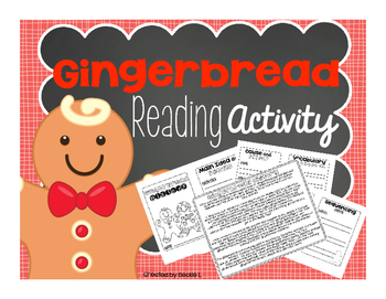Gingerbread Activity