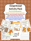 Gingerbread Activity Pack with File Folder Games