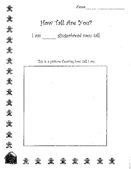 Gingerbread Activity Package
