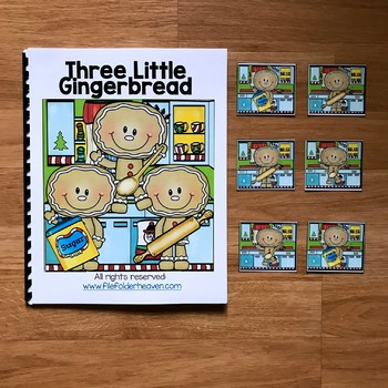 "Gingerbread Adapted Book:  ""Three Little Gingerbread"""
