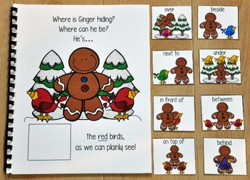 """Gingerbread Adapted Book--""""Where is Ginger Hiding?"""""""