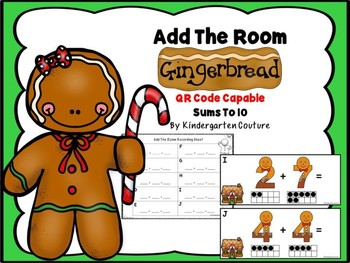Gingerbread Add The Room (QR Code Ready)