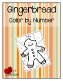 Gingerbread: Adding and Subtracting Fractions Color by Number
