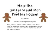 Gingerbread Addition Board Game