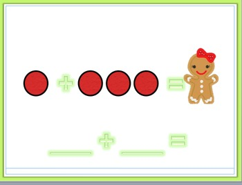Gingerbread Addition Powerpoint
