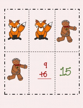 Gingerbread Addition Strategies