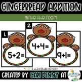 Gingerbread Addition Write the Room