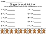 Gingerbread Addition to 10
