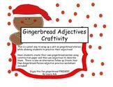 Gingerbread Adjective Craftivity