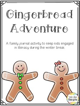 Gingerbread Adventure Journal