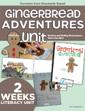 Gingerbread Adventures Balanced Literacy Unit