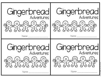 Gingerbread Adventures Freebie