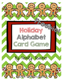 Holiday Alphabet Card Game