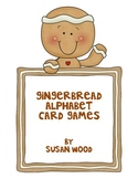 Gingerbread Alphabet Card Games