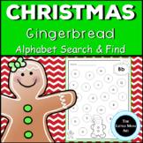 Gingerbread Alphabet | Christmas Letter Practice | Letter