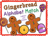 Gingerbread Alphabet Match