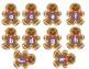 Gingerbread Alphabet Match
