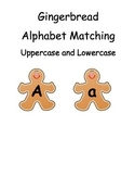 Gingerbread Alphabet Matching