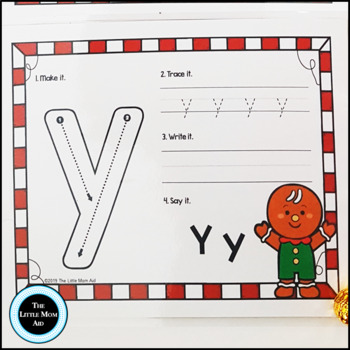 Gingerbread Alphabet Mats – ABC Literacy Activity