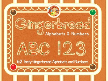 Gingerbread Alphabets and Numbers