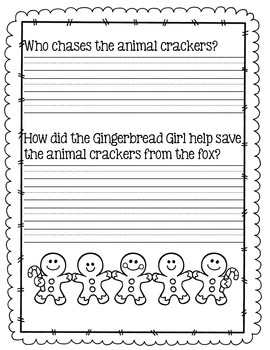 Gingerbread Author Study