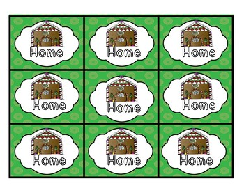 Gingerbread Baby ABC Game
