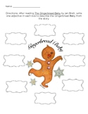 Gingerbread Baby Adjective Sheet