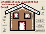 Gingerbread Baby Comprehension and Sequencing Packet