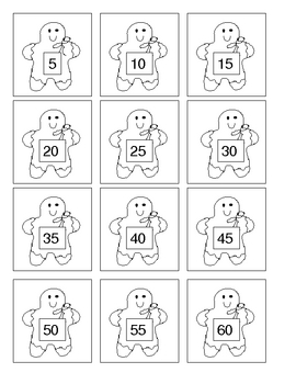 Gingerbread Baby Count by 5's