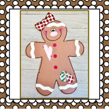 Gingerbread Baby Craft: Christmas Craft, December crafts