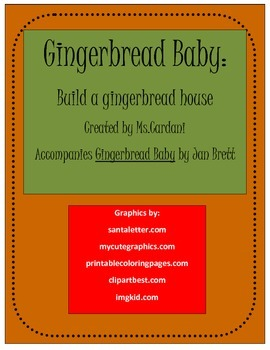 Gingerbread Baby: Decorate a House Activity