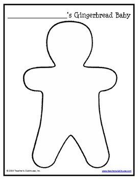 Gingerbread Baby Glyph