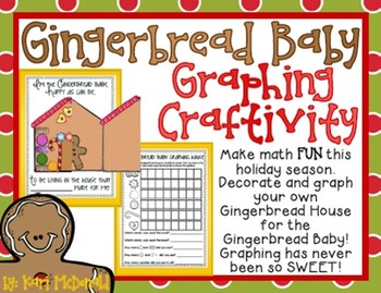 Math Worksheets gingerbread math worksheets : Gingerbread Baby Graphing Craftivity: A... by Tangled Up In ...