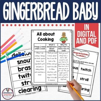 Gingerbread Baby Book Companion in Digital and PDF Formats