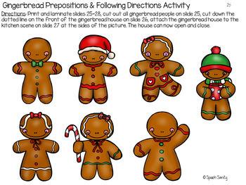 Gingerbread Baby Interactive Book & Extension Activities