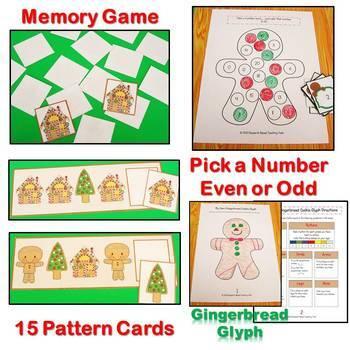 Gingerbread Baby by Jan Brett Literacy and Math Center Activities