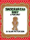 Gingerbread Baby Mini-Unit