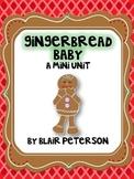 Gingerbread Baby Mini-Unit