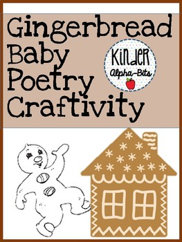 Gingerbread Baby Poetry Craftivity