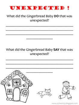 Gingerbread Baby Problem Solving!